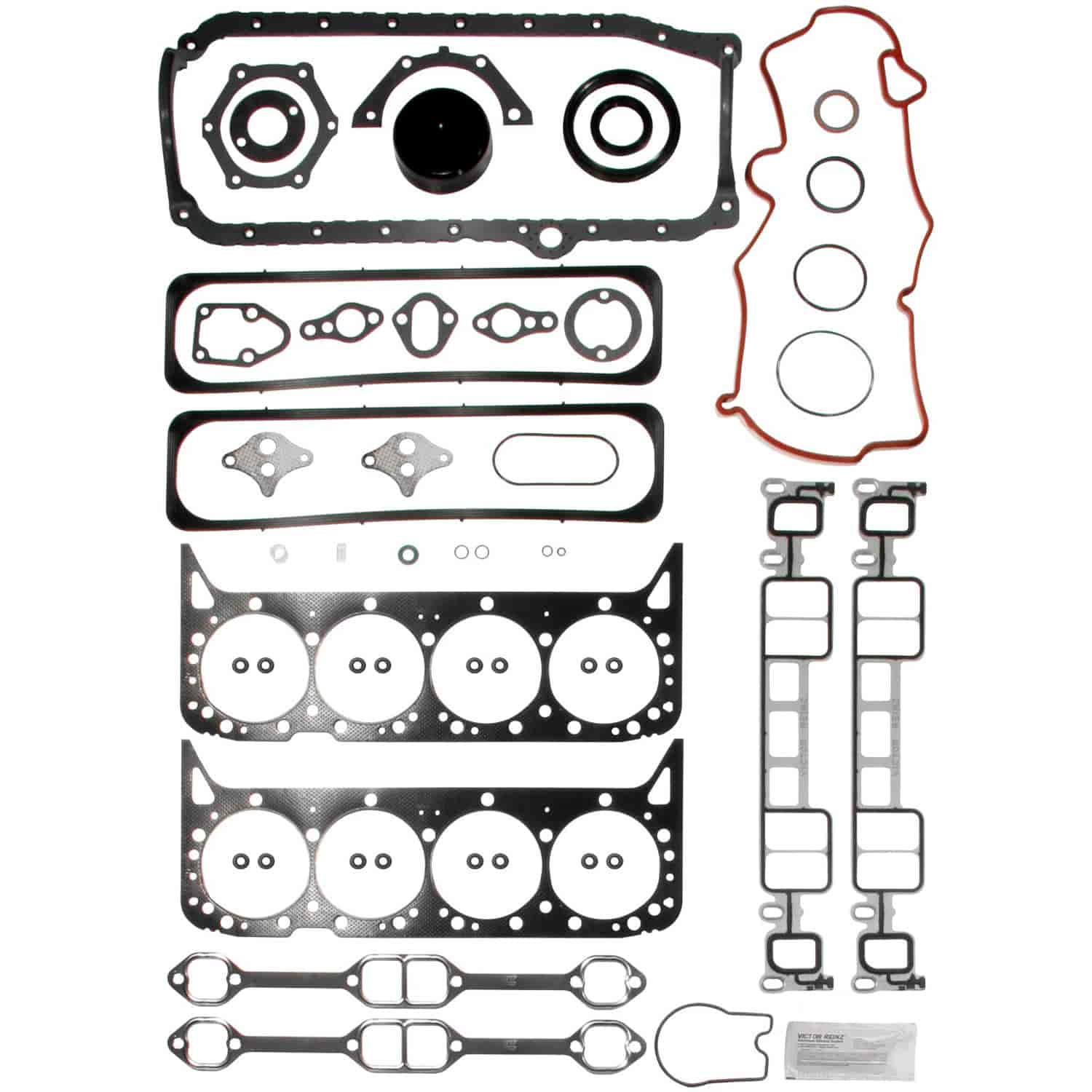 Clevite Mahle Engine Kit Gasket Set Small Block Chevy Vortec 350ci 5 7l