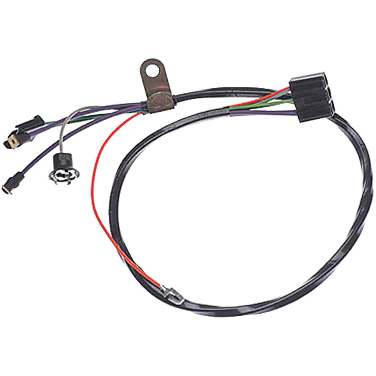 Restoparts Wiring Harness Console 68 Bonn Cat