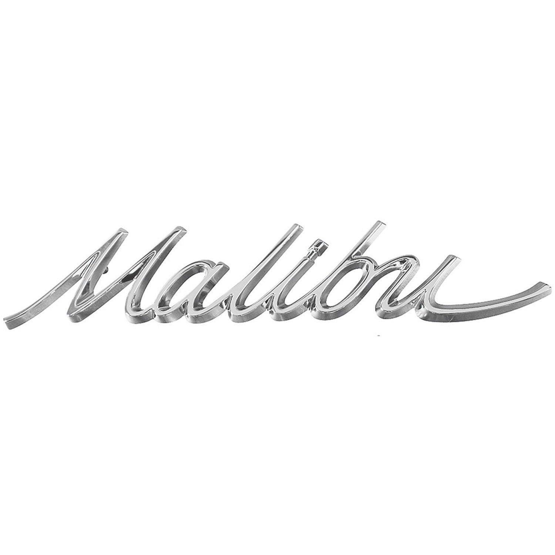 Restoparts Chv Malibu Quarter Panel Emblem