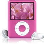 Valentine's Day Gift: Pink iPod Nano Video 3rd Gen