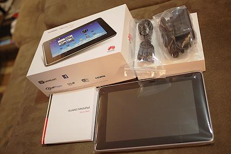 Inside the Huawei Mediapad box