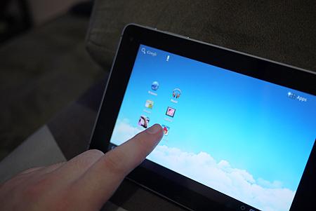 Huawei Mediapad Desktop UI
