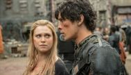 clarke looking at bellamy