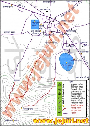 1 jejuri map