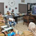 Bupati Sergai Video Konferensi dengan Gubsu Terkait COVID-19 di Sumut