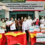 Akhyar Apresiasi MITSU Berikan Alkes Ke 20 Rumah Sakit