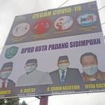 Warga Heboh, Terpampang di Baliho Ketua DPRD Sidimpuan Dijabat 2 Orang