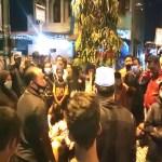 Polisi Bubarkan Aksi Pemblokiran Jalan, Buntut Penolakan Jenazah Covid-19