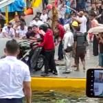 Mobil Jatuh ke Danau Toba, 1 Orang Dikabarkan Tewas