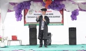 Plt Wali Kota Tanjungbalai Hadiri Pelepasan PAUD/RA dan Resmikan MIIT Al-Barokah
