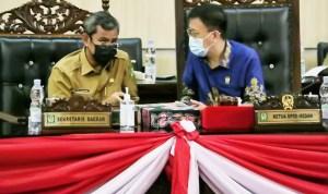 Sekda Kota Medan Ikuti Ranperda Pelaksanaan APBD TA 2020