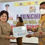 Bupati Launching Karo Siaga 112