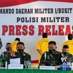 Terlibat Penembakan Wartawan di Simalungun, 4 Oknum TNI-AD Diamankan