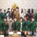 Plt Wali Kota Tanjungbalai Terima Kunjungan Mahasiswa KKN UINSU