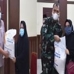 Masyarakat Padangsidimpuan Terima Bantuan Terdampak PPKM Darurat
