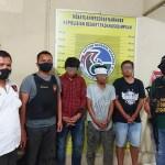 Sempat Kejar-kejaran, Tim PRC Psp Bekuk 3 Pria Diduga Edarkan Sabu