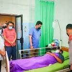 Bobby Nasution Besuk Jukir Korban Penembakan di Simpang Limun