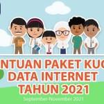 Sebanyak 24,4 Juta Peserta Didik dan Pendidik Terima Kuota Data Internet