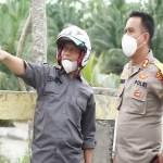 Plt Wali Kota Bersama Kapolres Tanjungbalai Tinjau Sungai Pasar Traktor Kelurahan Sijambi