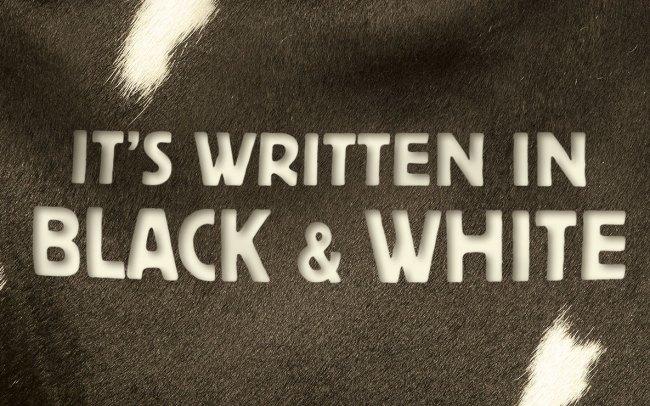 Pritchitts Black & White Campaign