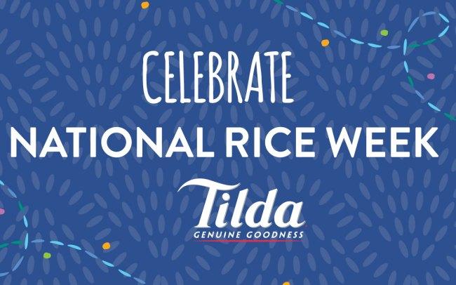 Food Service Marketing Agency - Tilda National Rice Week - Jellybean Creative Solutions