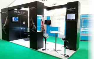 Exhibition stand design Bess medical conference
