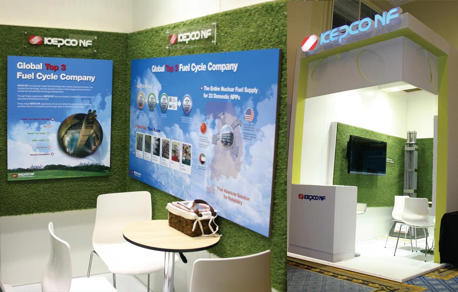Exhibition Stand Builders Association : Kepco nr wna symposium exhibition stand design agency