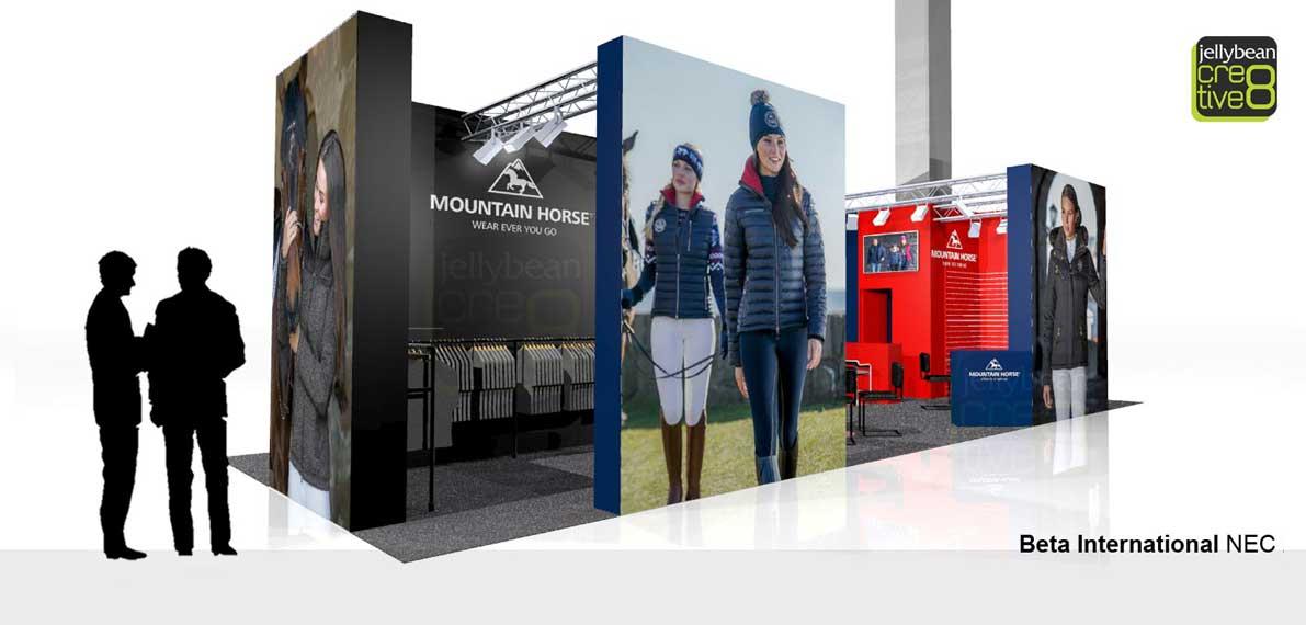 Mountain Horse Beta International Exhibition stand Design & Build