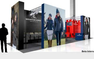 Mountain Horse Beta International Exhibition stand Design & Build