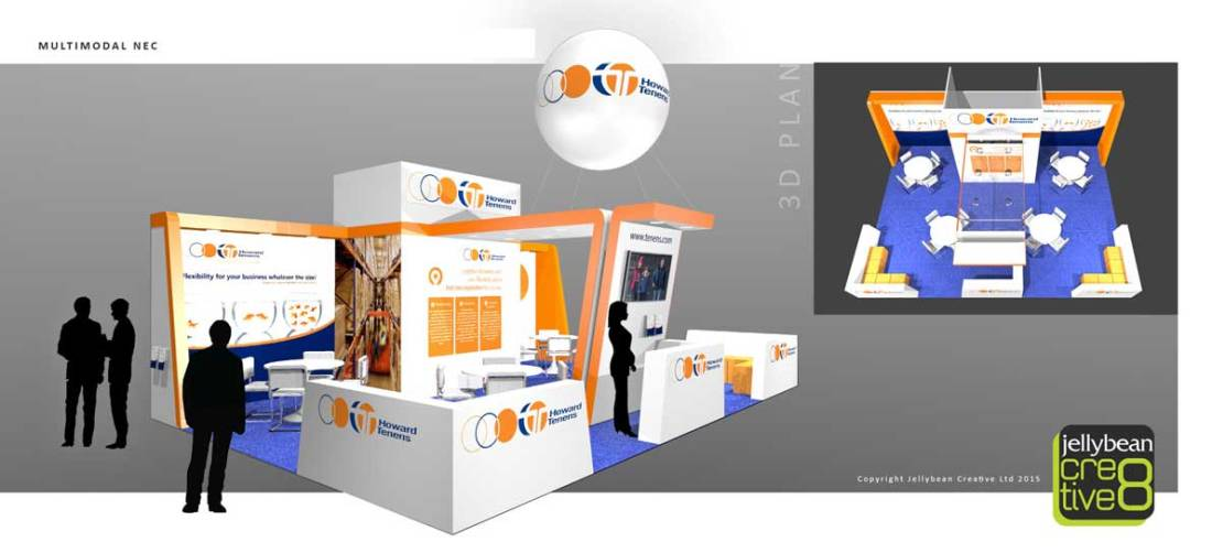 Howard Tenens Multimodal NEC Birmingham Exhibition Design