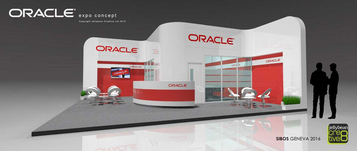 Exhibition Stand Design Software : Oracle software sibos geneva tradeshow exhibition