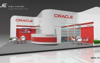 Oracle Sibos Geneva Exhibition stand Design