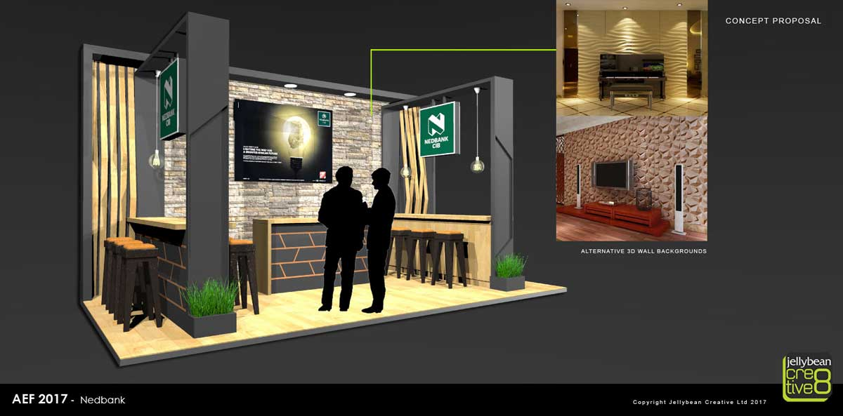 Nedbank African Energy Forum Copenhagen Exhibition stand design