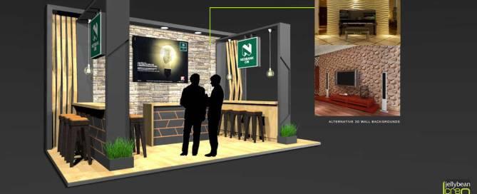 Nedbank African Energy Forum Copenhagen Exhibition stand design