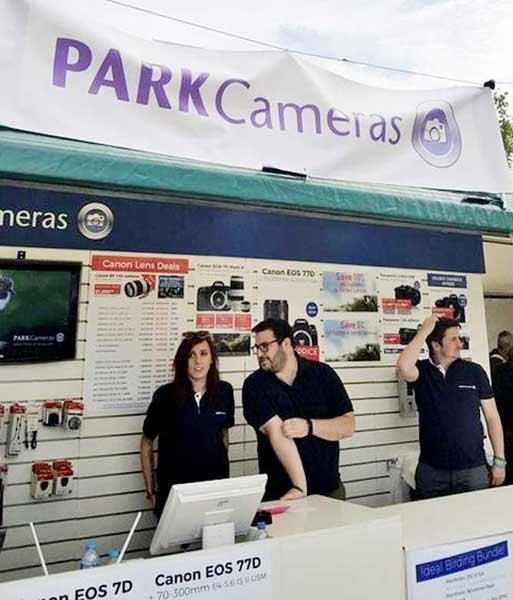 Park Cameras Rutland Birdfair Exhibition Design Build