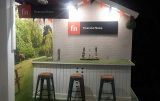 PLSA Conference Garden Pub Themed Exhibition Booth Manchester