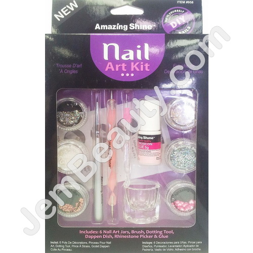 Amazing Shine Nail Art Kit