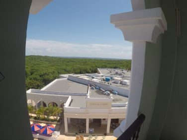 View from the top of the plaza light house