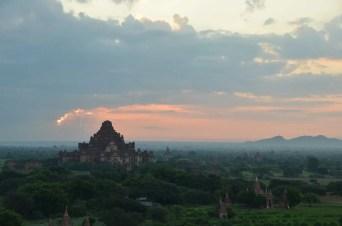 Bagan sunrise Myanmar