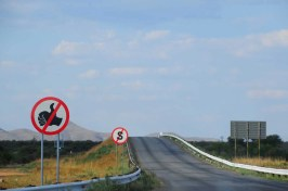 Route en Namibie
