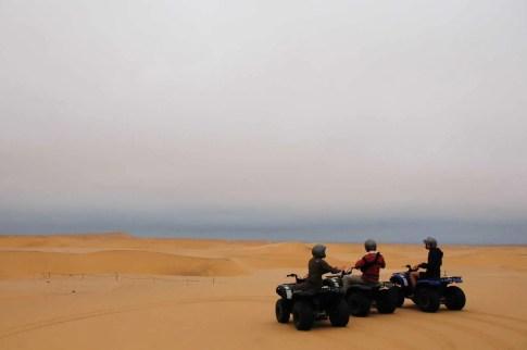 Quad dans les dunes Swakopmund