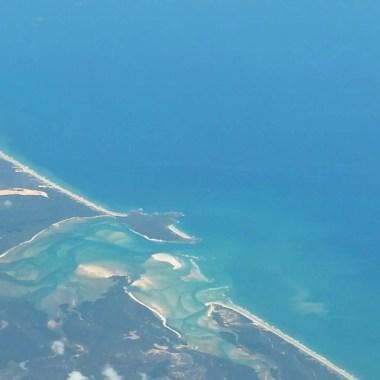 Whitsundays vues du ciel Australie