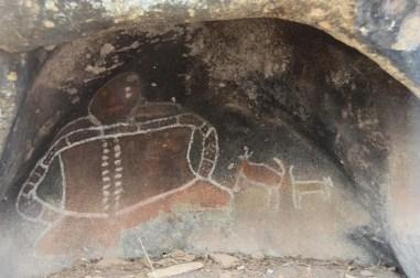 Peintures aborigènes dans les Grampians Australie