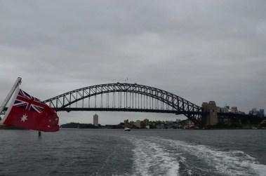 Vue depuis le ferry Sydney Australie