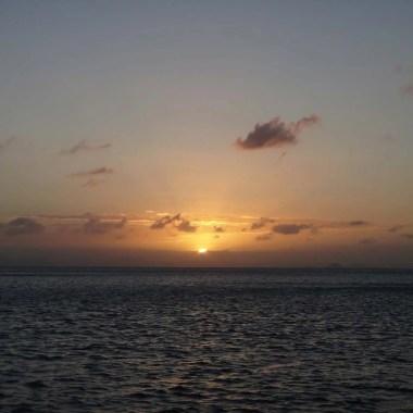 Coucher de soleil dans les Whitsundays Australie