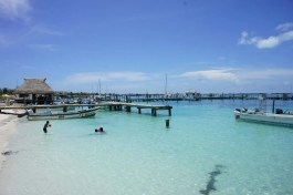 Port de Isla Mujeres, Mexique