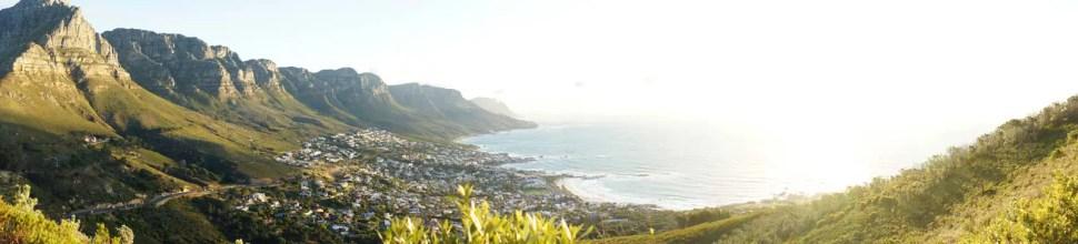 Vue panoramique du Cap depuis Lion's Head