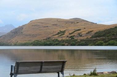 Lac aux portes de Queenstown Nouvelle Zélande