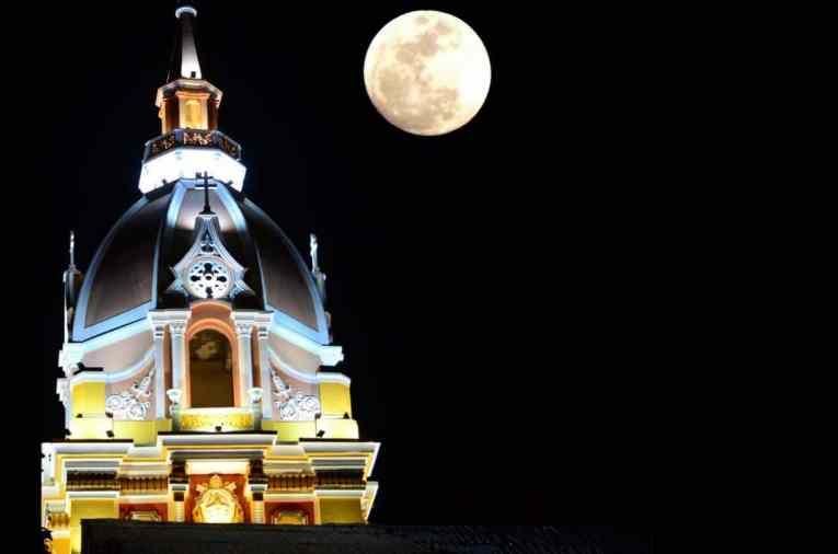 Cathédrale de Cartagène Colombie