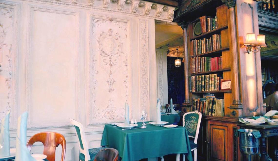Café Pushkin Moscou